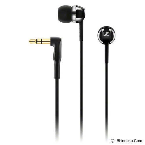 SENNHEISER Earphone [CX 1.00] - Black - Earphone Ear Monitor / Iem
